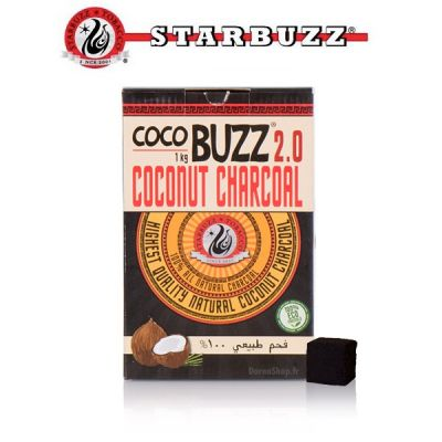 Starbuzz Cocobuzz 2.0 Natural Charcoal 1kg