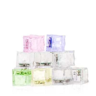 Cubes LED Lumineux par 3