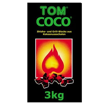Tom Coco Green 3kg Natural Charcoal