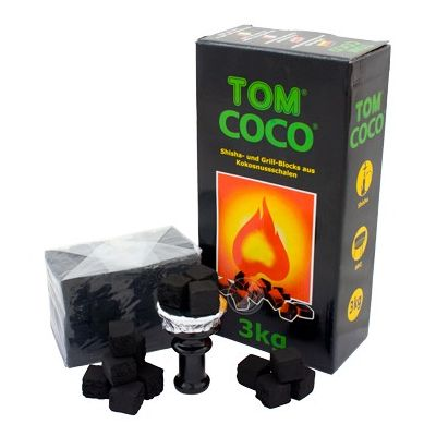 Charbon naturel Tom Coco Vert 3kg