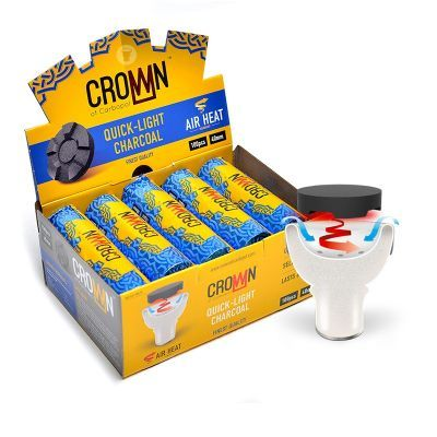 Carbopol Crown 40mm Charcoal