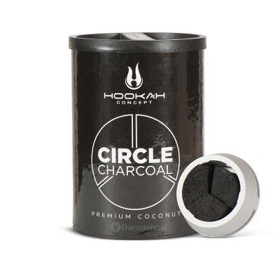 Hookah Concept Circle Natural Charcoal