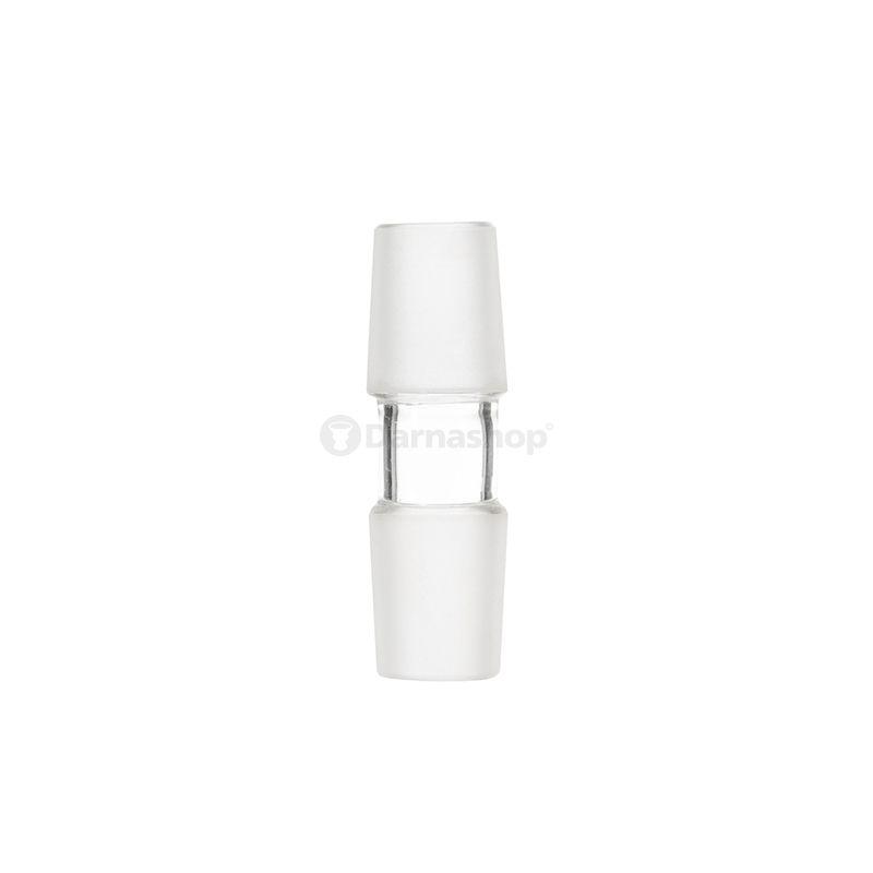 Adaptateur en verre Mâle / Mâle