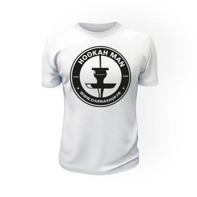 T-Shirt Hookah Man