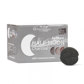 Half Moon charbon naturel