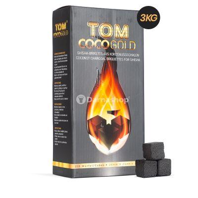 TOM Cococha Premium Gold 3kg charcoal