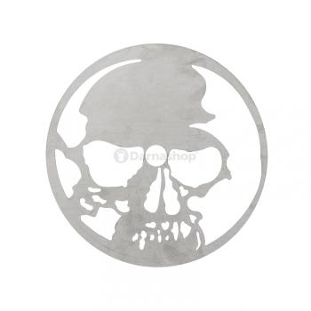 Assiette design Skull
