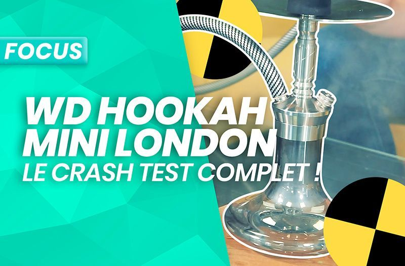 WD Hookah Mini-1: Le test et l'avis de Darnashop sur la Mini London!