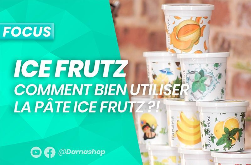 Le goût chicha Ice Frutz : la préparation officielle par nos experts