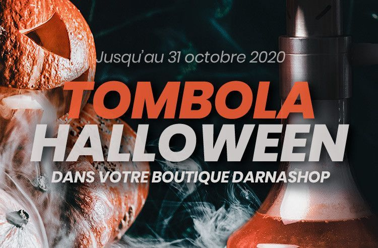 Tombola Halloween DARNASHOP en boutique de Lille!