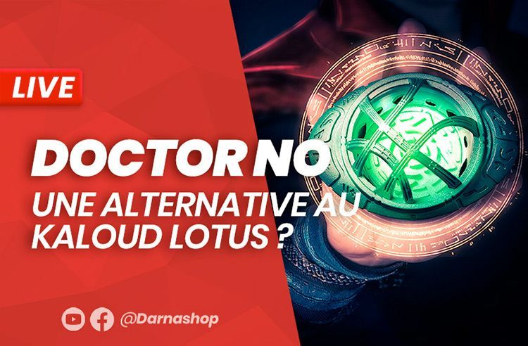 Docteur No: Une alternative au Kaloud Lotus performante pour votre chicha?